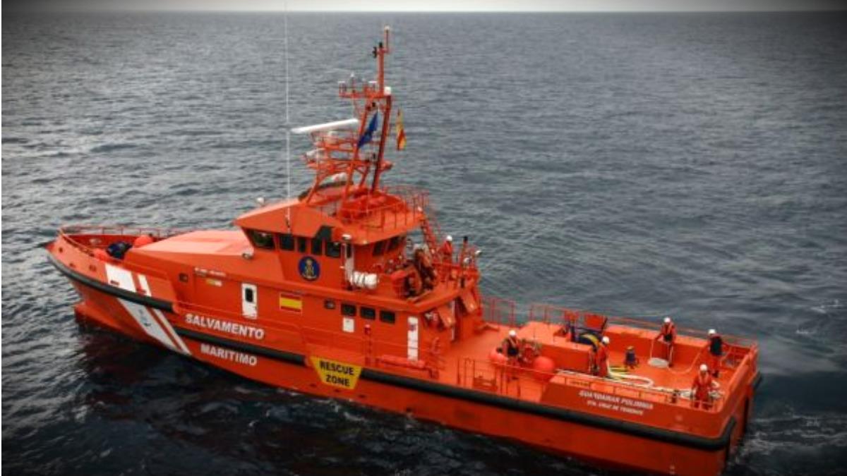 La embarcación Guardamar Polimnia, de Salvamento Marítimo.
