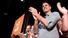 Pedro Sánchez en Tenerife (Foto:EFE)