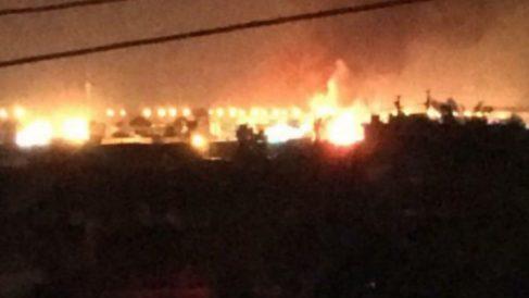 Coche bomba en Bagdad (Foto:Twitter)