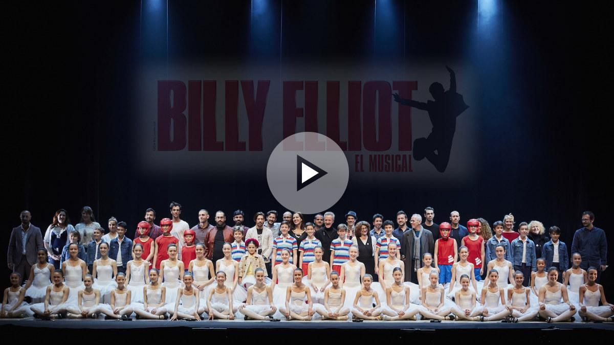 El elenco elegido hasta el momento del musical Billy Elliot producido por SOMProduce