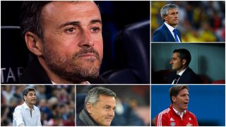 Luis Enrique, Setién, Valverde, Berizzo, Escribá, Pellegrino y cinco técnicos más acaban contrato en junio