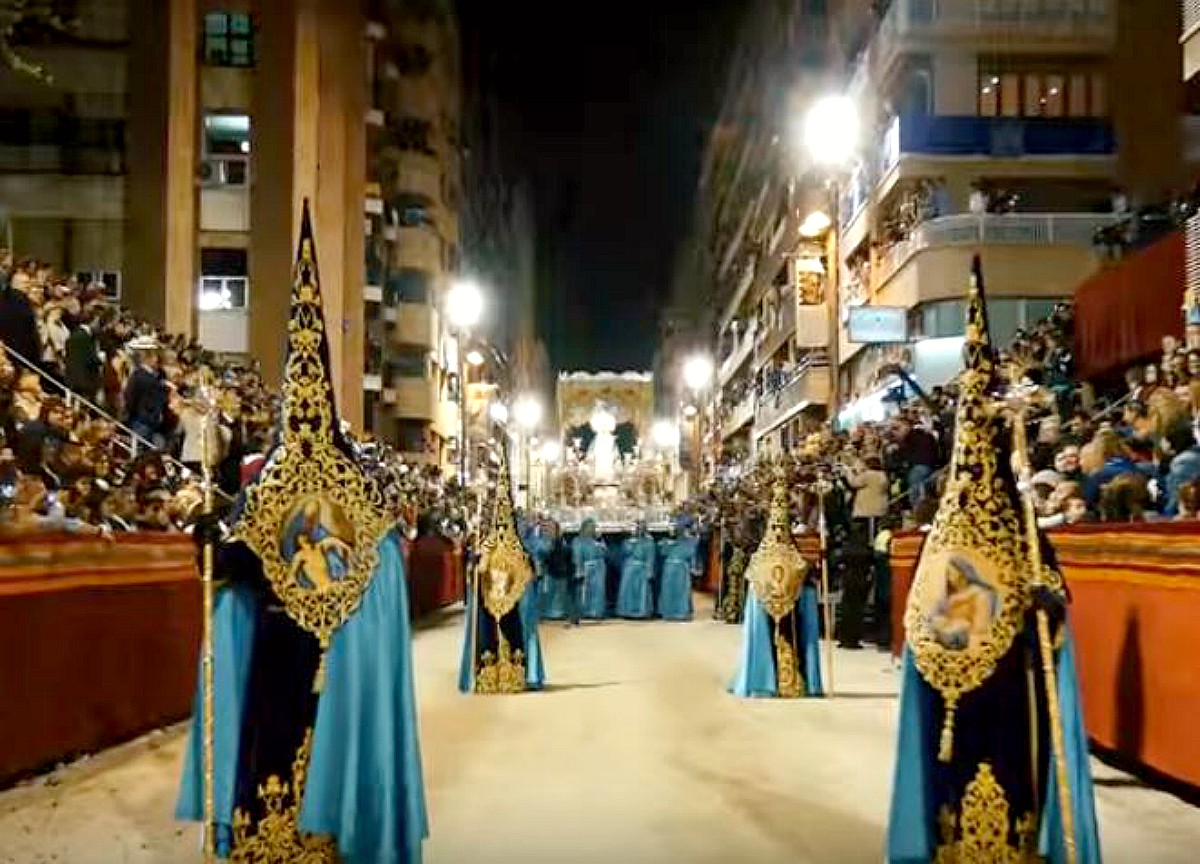 Procesiones Semana Santa en Lorca 2017: Horarios e Itinerarios (Foto de archivo)