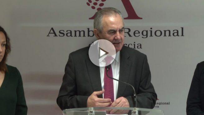 El PP de Murcia acusa a Tovar de mentir al decir que no conoce al perito del PSOE que acusa a Sánchez