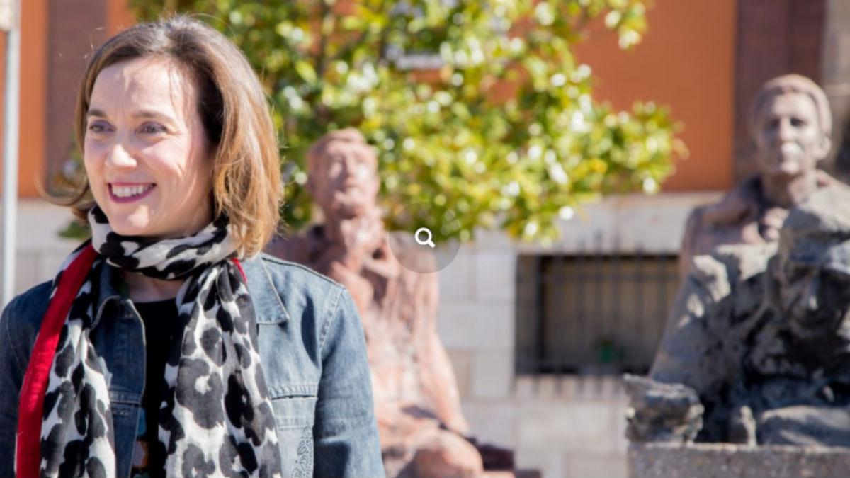 La alcaldesa de Logroño y candidata a presidir el PP de La Rioja, Cuca Gamarra.