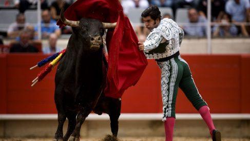 """El torero Morante de la Puebla en """"La Monumental"""" de Barcelona (Foto: Getty)"""