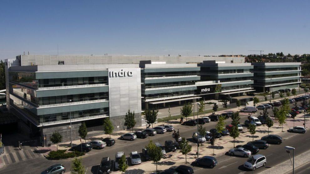 Edificio de Indra en Madrid.
