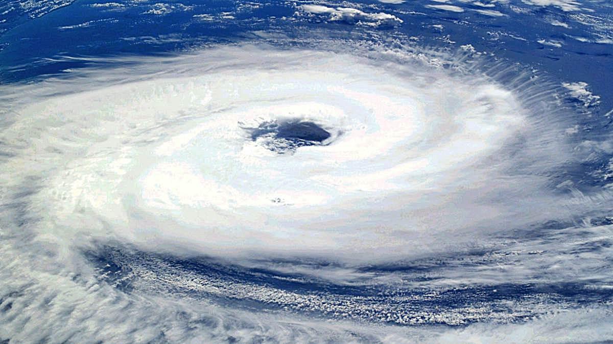 Ojo de un tifón