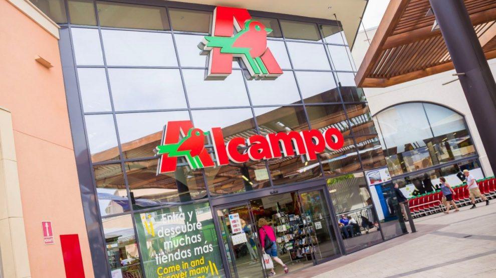 Establecimiento de Alcampo.