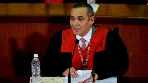 El presidente del Tribunal Supremo de Venezuela, Maikel Moreno (Foto: EFE).