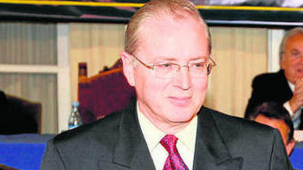 Nicolás Uclés, ex presidente de la Federación de Futbol almeriense, que fue condenado por posesión de pornografía infantil.