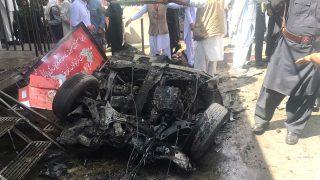 Imagen de un atentado en Pakistán (Foto: AFP).