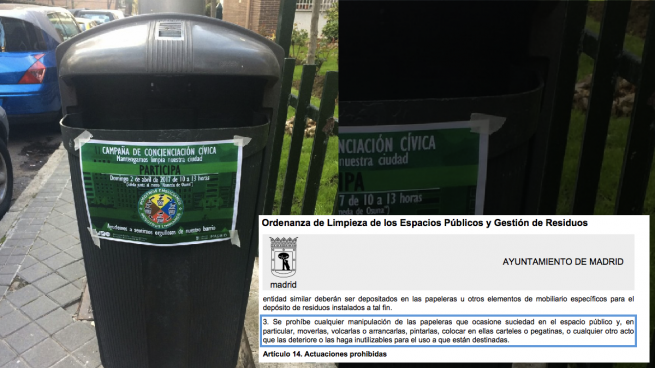 Carmena Lanza Una Campaña De Limpieza Con Carteles Que Incumplen La