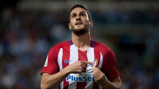Koke, autor del primer gol del Málaga 0-2 Atlético