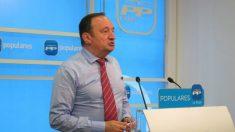 Pedro Sanz, ex presidente del PP de La Rioja. (Foto: EFE)