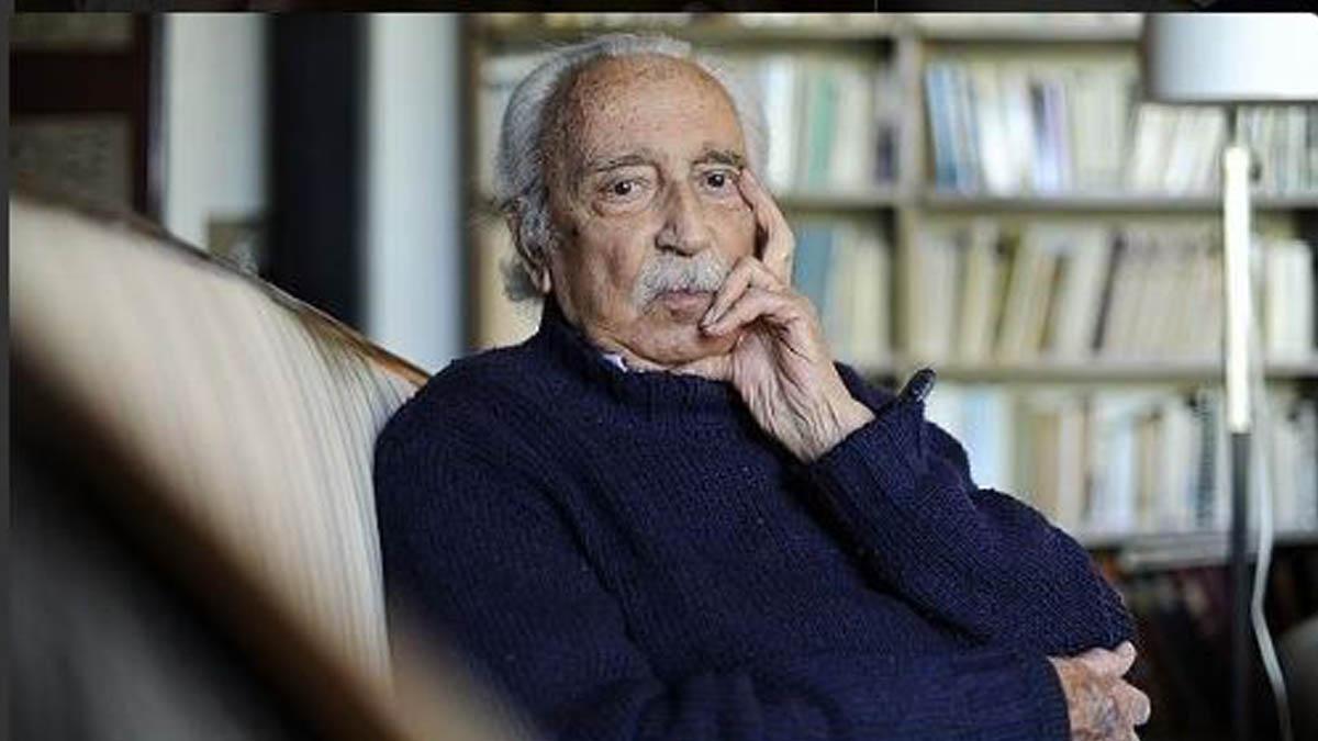 El filósofo Salvador Pániker.