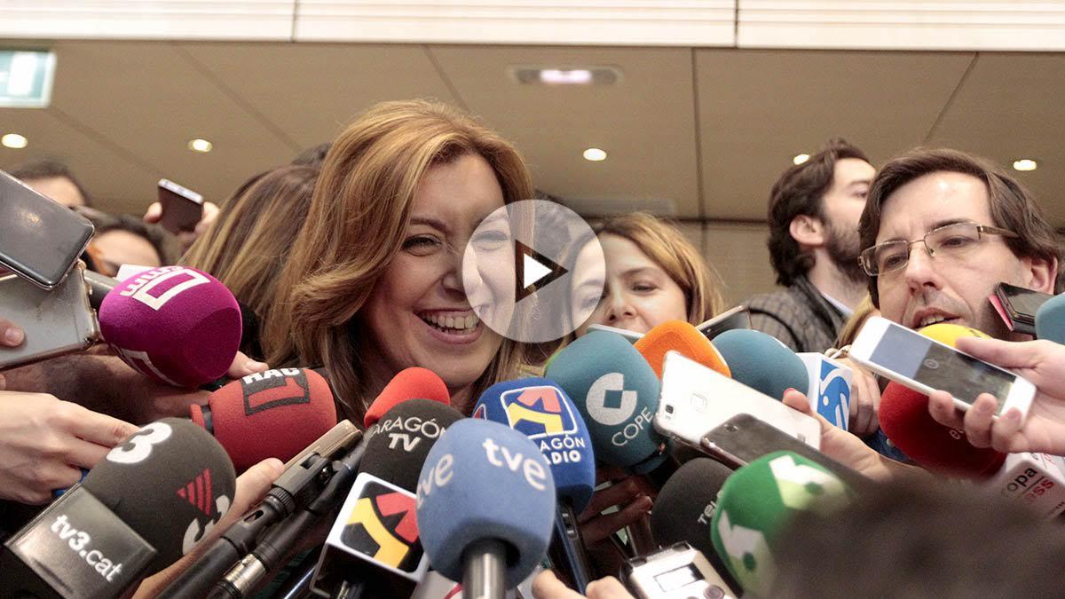 La presidenta de la Junta de Andalucía, Susana Díaz. (Foto y Vídeo: Enrique Falcón y Paco Toledo)
