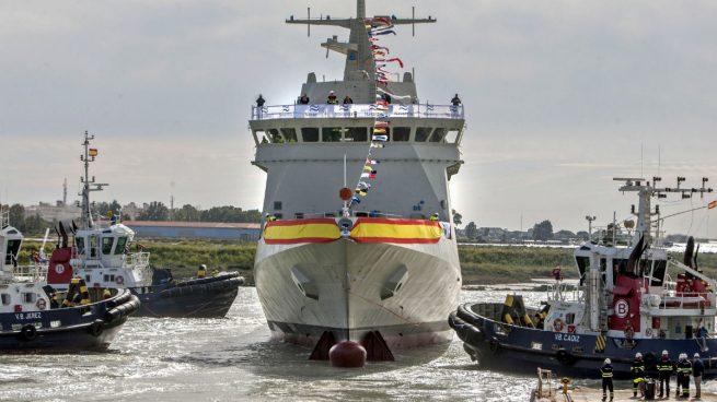 El despliegue del 'Audaz' para rescatar al 'Open Arms': 70 efectivos y 36.000 € sólo en combustible