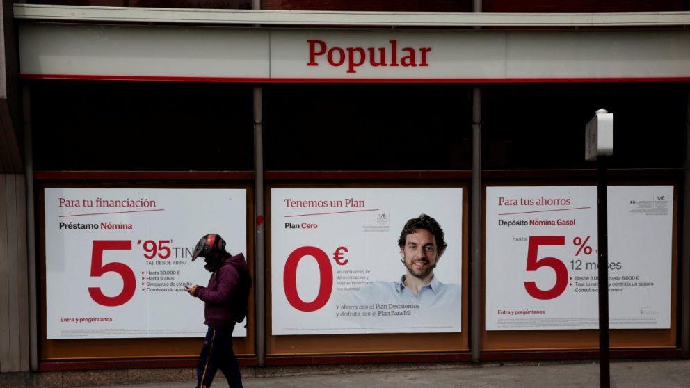 Entidad de Banco Popular antes de la resolución (Foto: EFE)