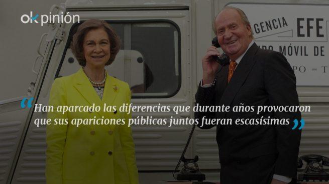 Juan Carlos y Sofía: juntos esta semana en dos actos oficiales