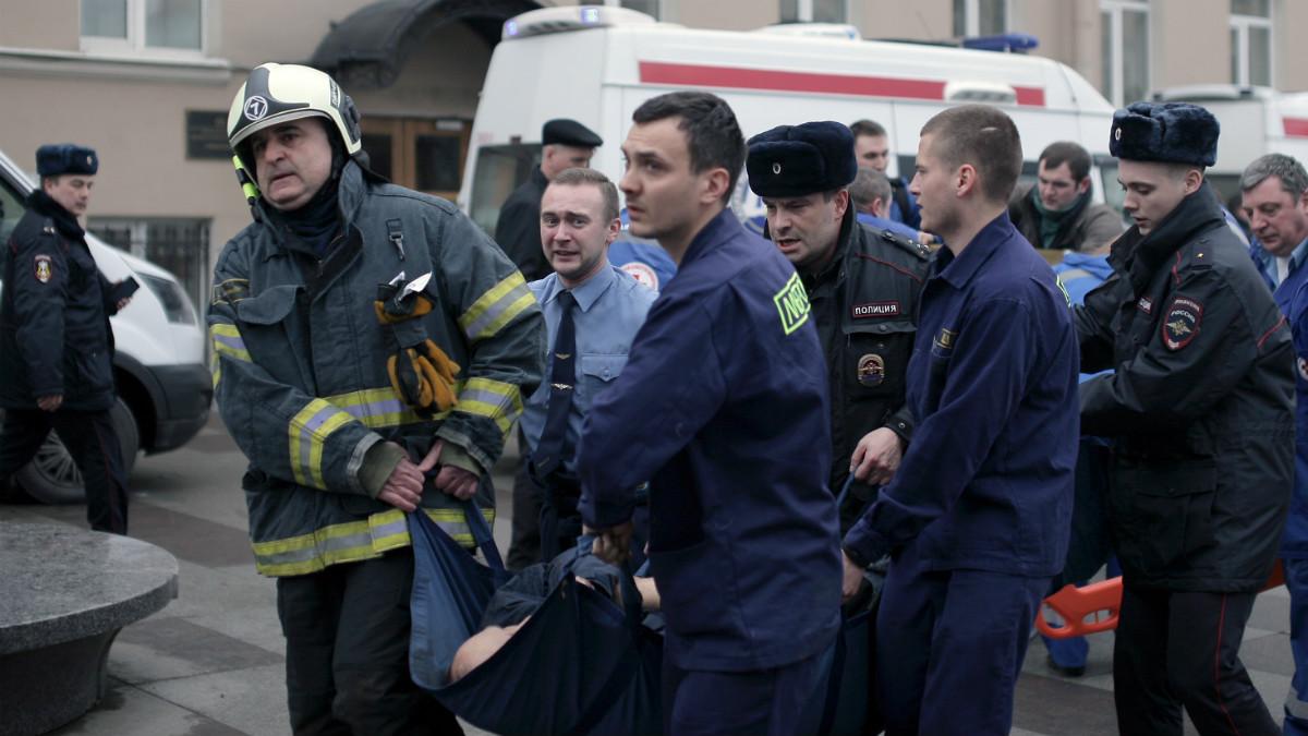 Atentado en el metro de San Petersburgo  (Foto: AFP)