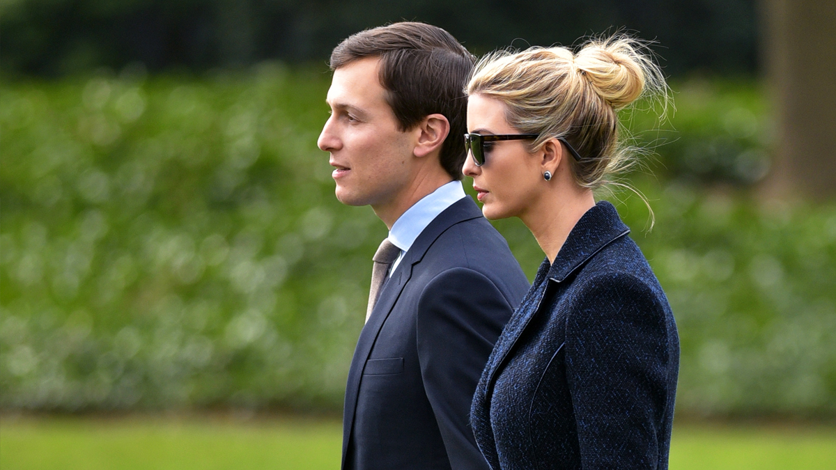 Jared Kushner e Ivanka Trump. (Foto: AFP)