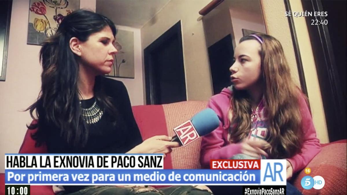 Lucía, ex novia de Paco Sanz.