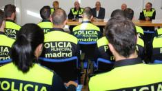 Nueva promoción de policías municipales de Madrid. (Foto: PM)