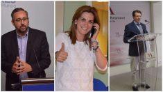 Víctor Martínez, Patricia Fernández y Francisco Jódar, posibles sucesores de Pedro Antonio Sánchez en Murcia.