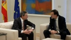 Mario Draghi y Mariano Rajoy (Foto: GETTY).