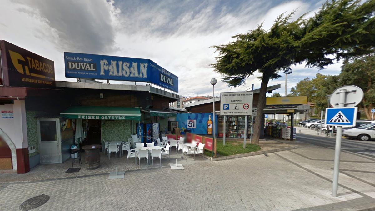 Fachada del bar Faisán, en Irún, donde se produjo el chivatazo a ETA.