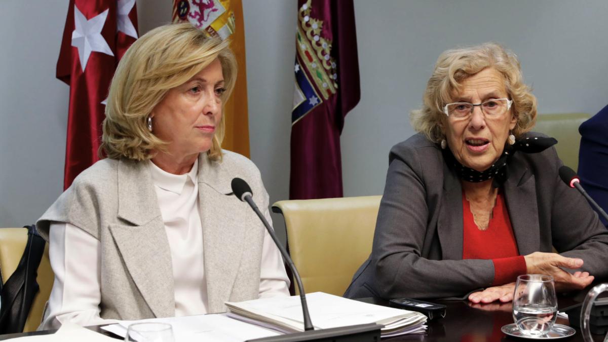 Concha Dancausa, delegada del Gobierno en Madrid, y Manuela Carmena, alcaldesa de la capital. (Foto: Madrid)