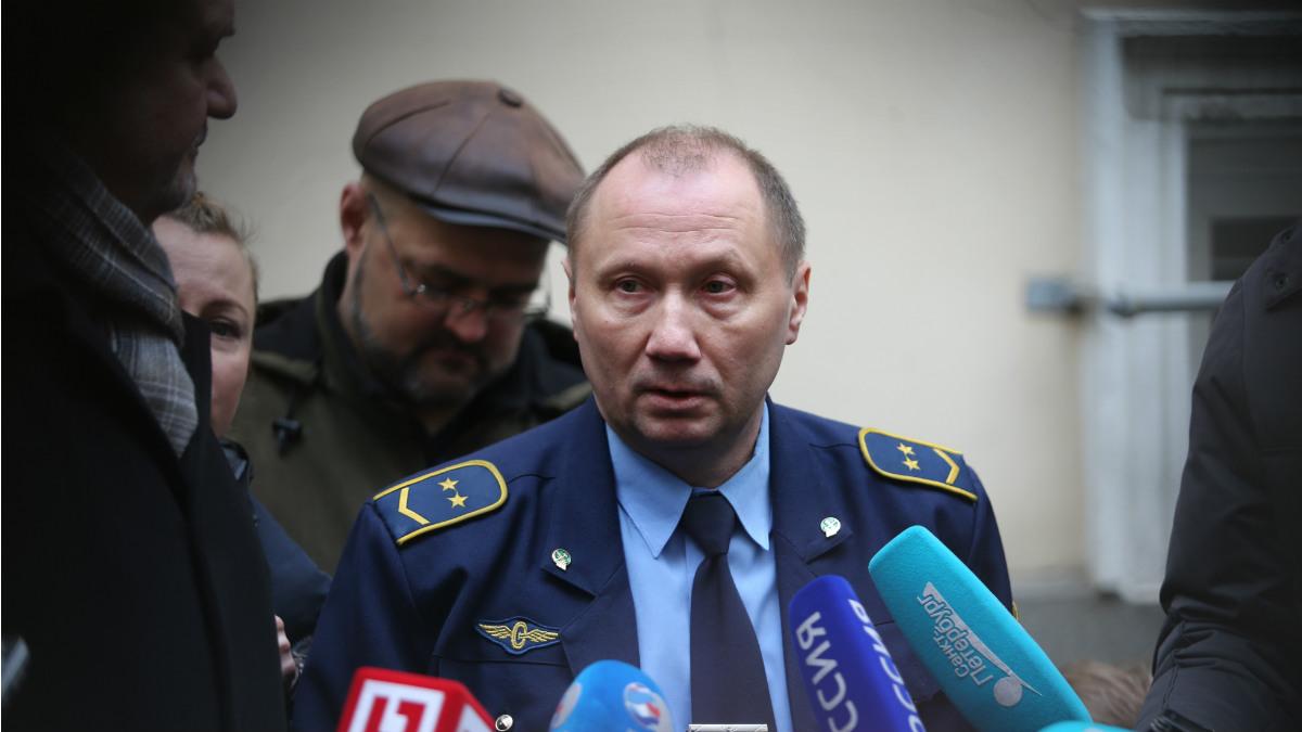 Alexandre Kaverin, conductor del metro de San Petersburgo que sufrió el atentado con bomba. (AFP)
