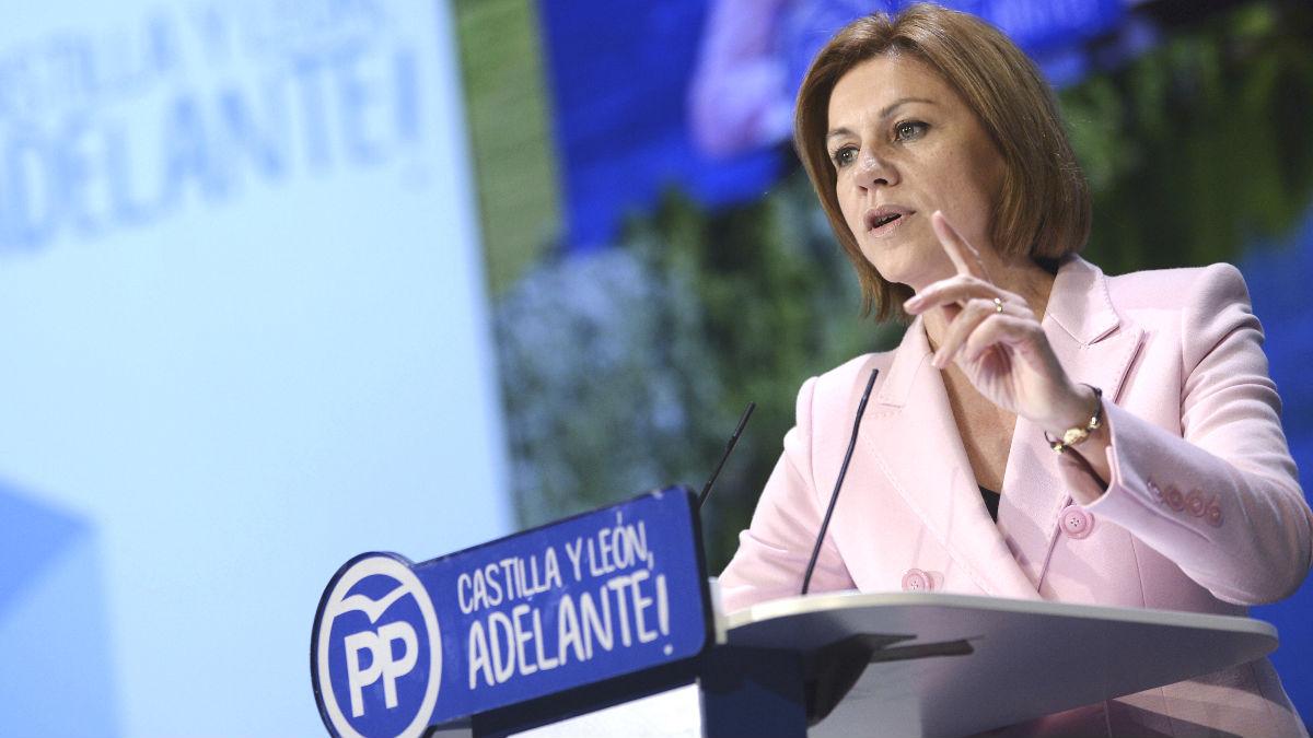 La secretaria general del PP, Maria Dolores de Cospedal (Foto: Efe)