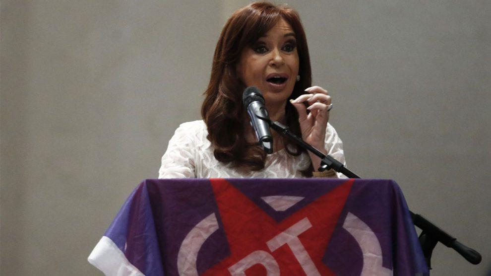 La ex presidenta de Argentina Cristina Fernández de Kirchner (Foto: AFP)