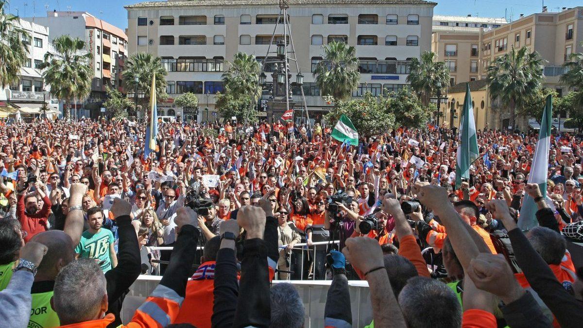 Huelga de estibadores (Foto: EFE)