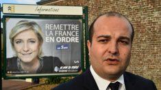 David Rachline, el director de campaña de la líder del Frente Nacional, Marine Le Pen (Foto:AFP)