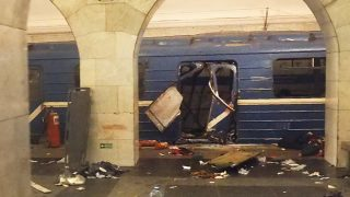 Atentado en el metro de San Petersburgo. (Foto: AFP)