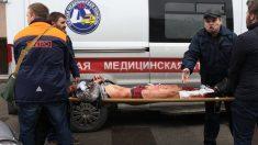 Víctima del atentado de San Petersburgo. (Foto: AFP)