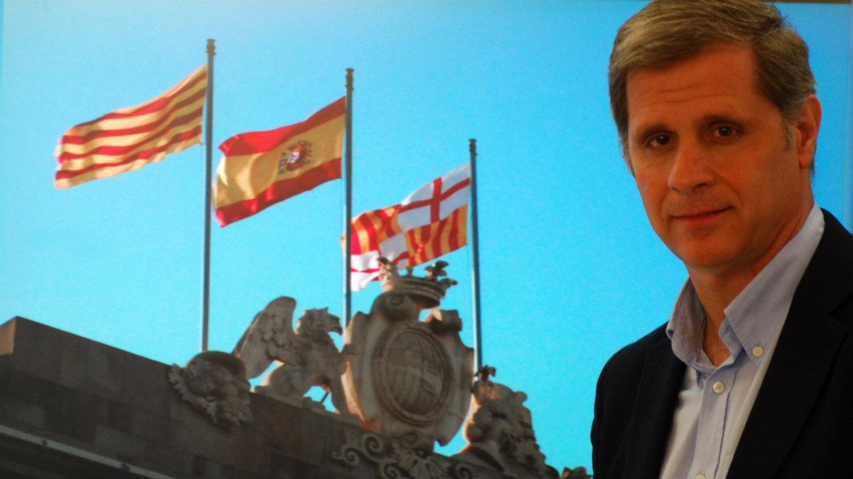 Alberto Fernández, líder del PP en el Ayuntamiento de Barcelona.