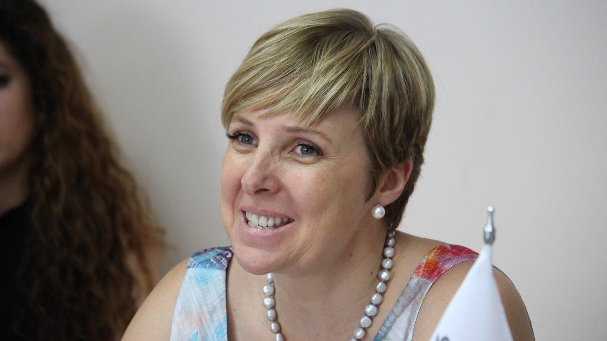 Patricia Suárez, presidenta de la asociación ASUFIN