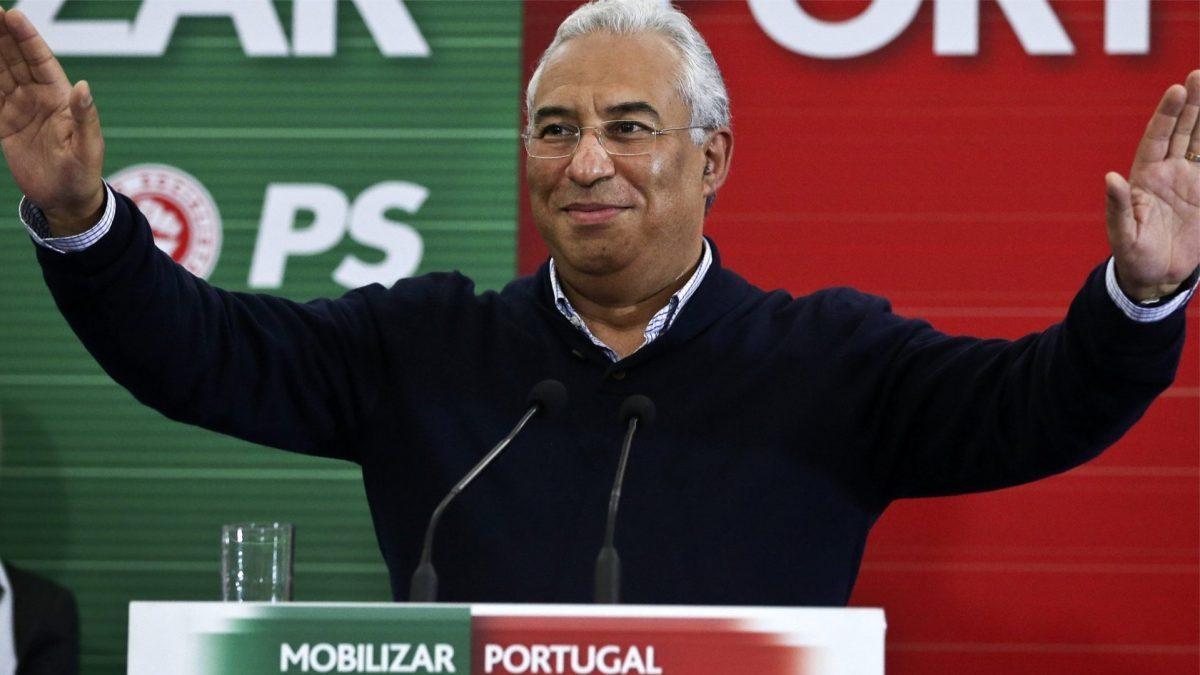 Antonio Costa, primer ministro de Portugal.