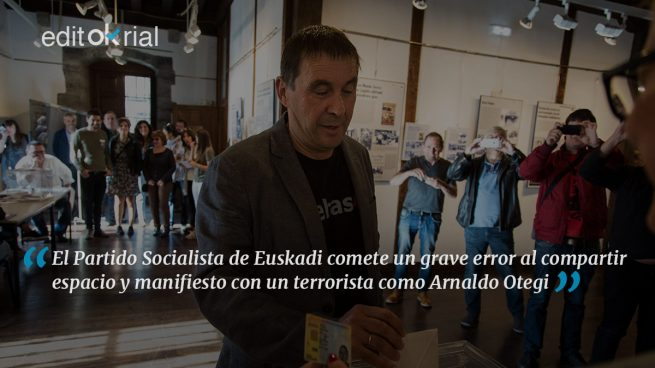 ¿Qué pinta el PSOE con un terrorista?