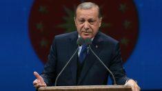 El presidente de Turquía, Recep Tayyip Erdogan (Foto:AFP)