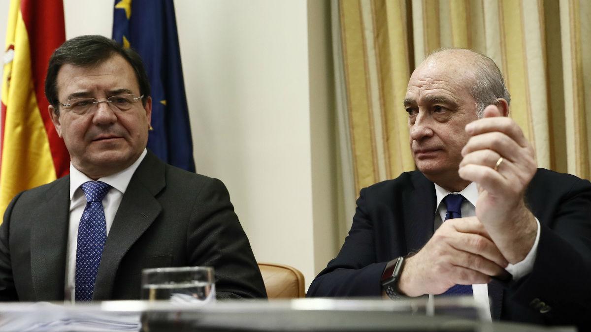 Jorge Fernández Díaz, en el Congreso.
