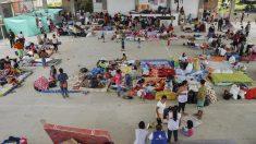 Afectados por las inundaciones de Mocoa (AFP)