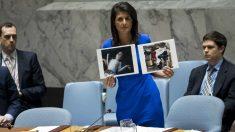 ataque químico en Siria en 2017. (AFP)