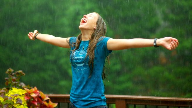emociones y olor a lluvia