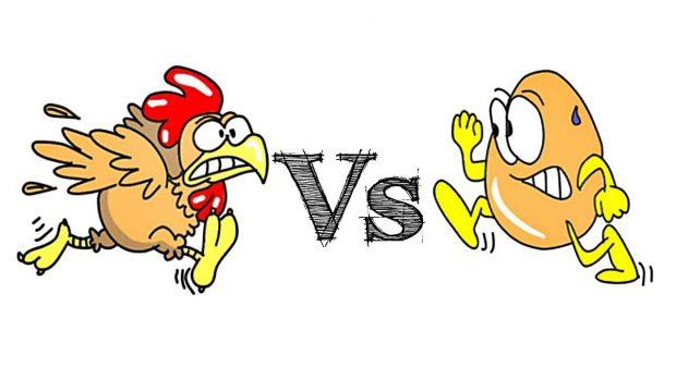 El huevo o la gallina