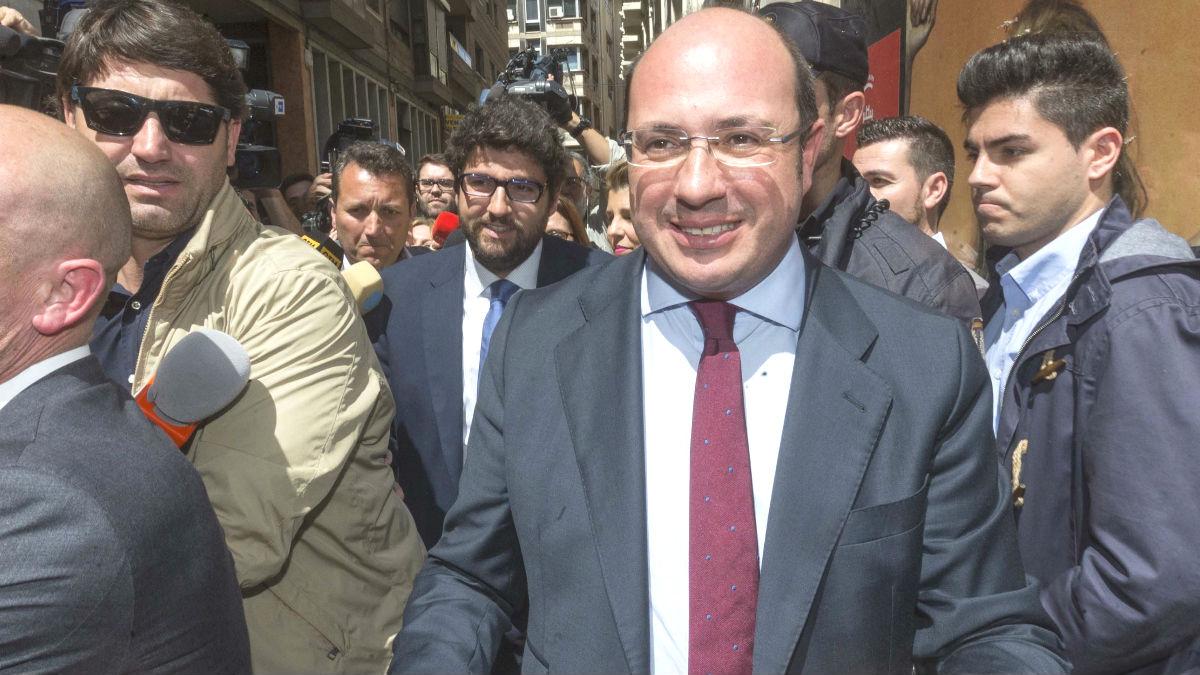 El ex presidente de la Región de Murcia, Pedro Antonio Sánchez (Foto: Efe)