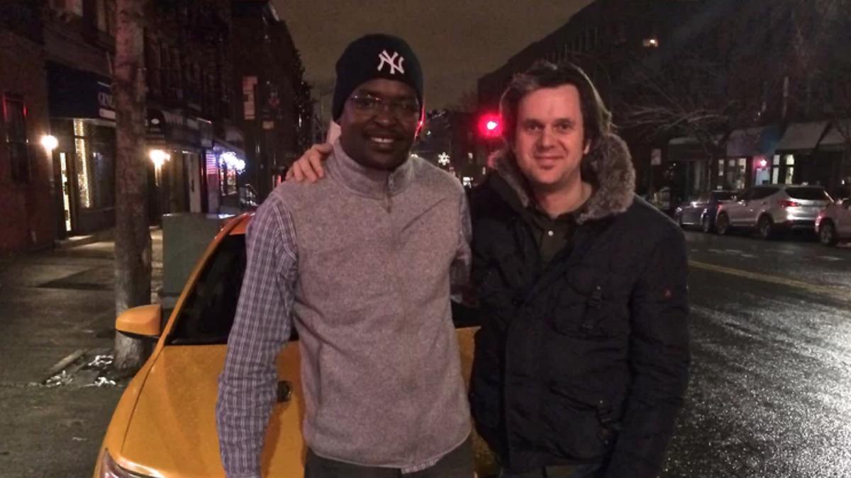 Daoud Hari y Phil Cox en Nueva York en febrero de 2016. Los dos fueron torturados en Sudán Foto: Phil Cox